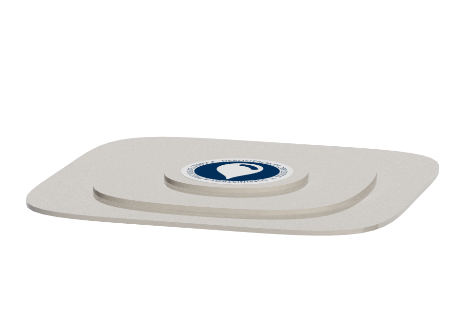 Tapa para depósito rectangular