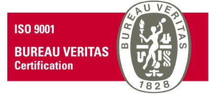 Certificación ISO 9001-2008 Bureau Veritas en nuestros depósitos