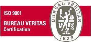 Certificado Bureau Veritas ISO 9001:2008