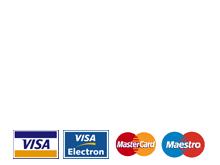 Pago 100% Seguro con la pasarela de pago integral. Verificada por Visa y Mastercard